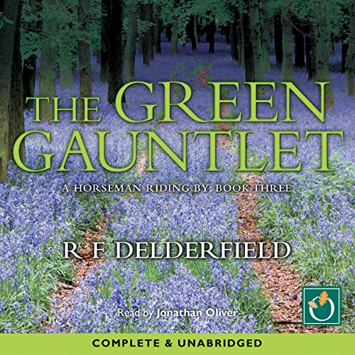The Green Gaunlet audiobook cover art