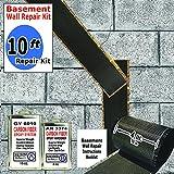 carbon fiber wall repair kit - 10 ft-Carbon Fiber-Basement Wall Crack Repair Kit