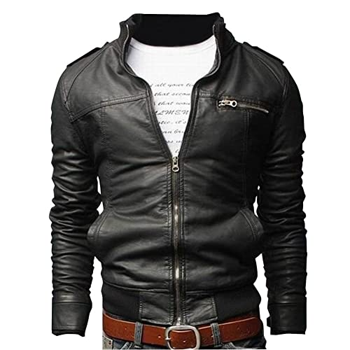 Cheap Leather Jackets For Men Amazon Co Uk