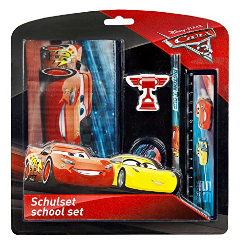 Undercover CAAD6471 - Schulset, Disney Pixar Cars 3, 5 teilig
