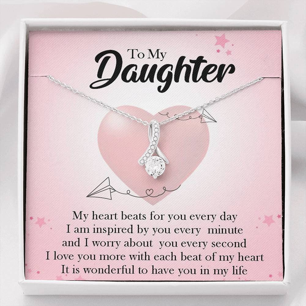 To My Bombing new work Daughter - Ranking TOP18 Wonderful Have Family Forever You Pendant N