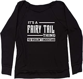 Expression Tees It's A Fairy Tail Thing Off Shoulder Sweatshirt