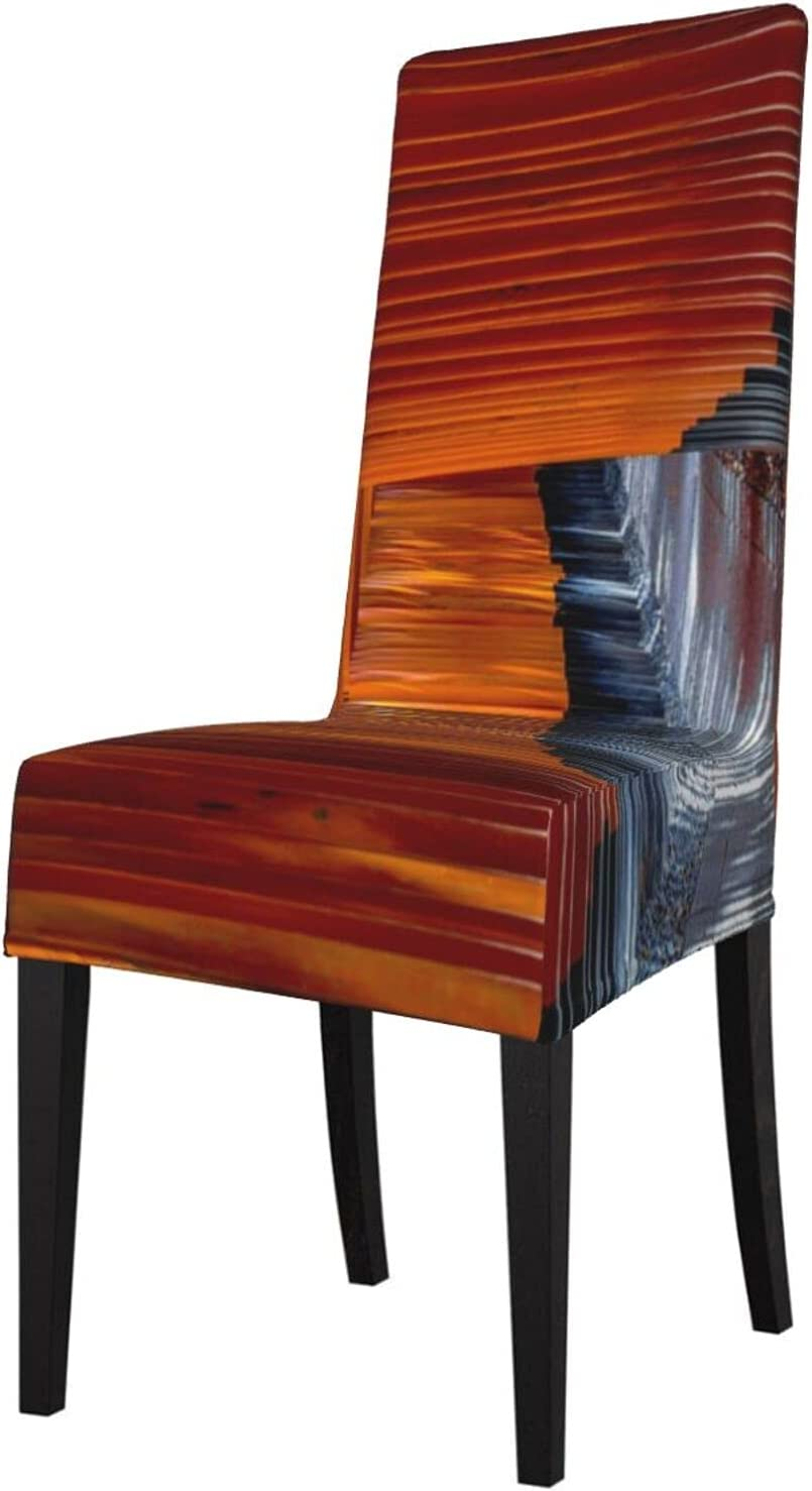 Dining San Diego Mall Room Chair Cover Spandex Wa Max 55% OFF Fabric Stretch Removable and