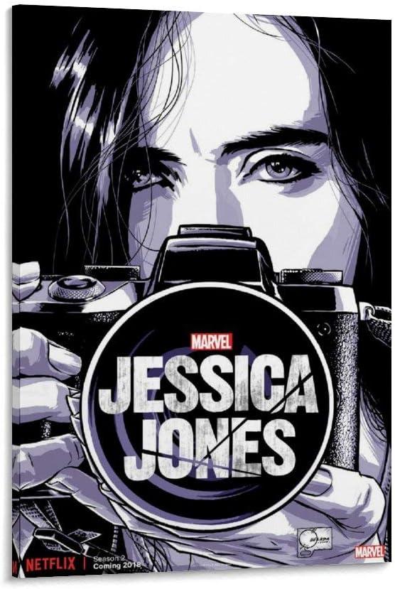LINXIN Jessica ついに入荷 Jones Poster Wall Art for Artwo Print 値下げ Room Living