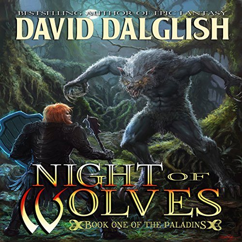 Night of Wolves audiobook cover art