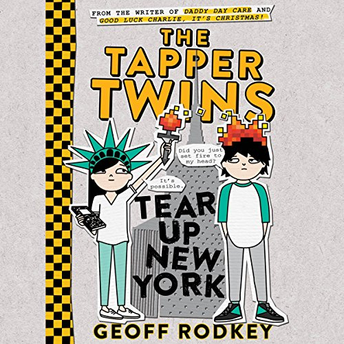The Tapper Twins Tear up New York audiobook cover art