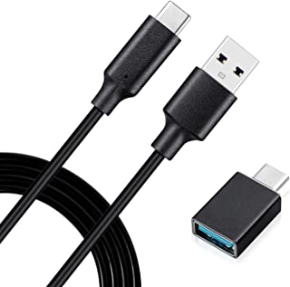 Type C to USB Cable Compatible with Elgato Stream Deck XL(32 Keys) Live Content Creation Controller with USB C Male to USB...