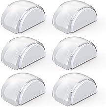 Yosemy Set van 6 zelfklevende deurstoppers voor alle harde vloeren ter bescherming van muur en meubels