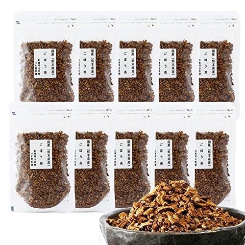 国産 九州産 ごぼう茶 川本屋茶舗 (100g×10袋)