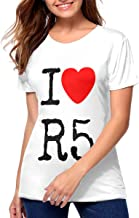I Love R5 High-end Fashion Sports T-Shirt Men's Classic Perfect