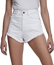 Urban Classics Ladies Denim Hotpants Pantalones Cortos para Mujer