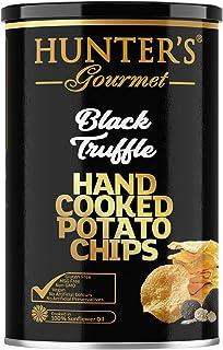 Hunter's Gourmet Hand Cooked Potato Chips, Black Truffle, 150 gm