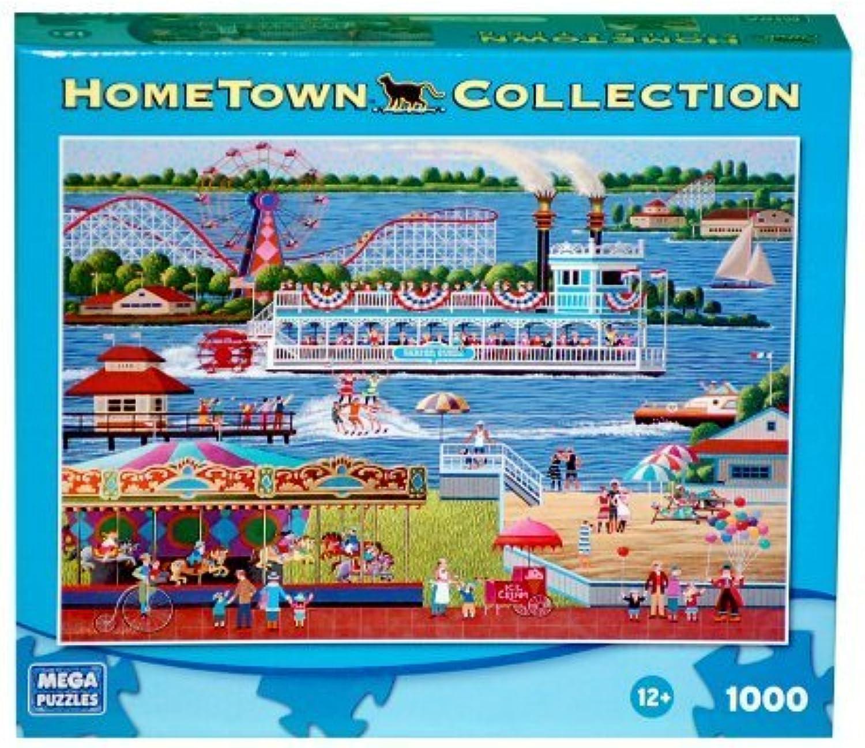 costo real HOMETOWN COLLECTION At The Lake 1000 Piece Piece Piece Puzzle by MB PUZZLE  los nuevos estilos calientes