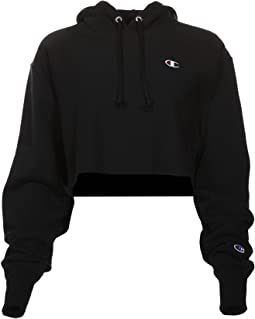 Reverse Weave® Cropped Cut Off Pullover Hoodie