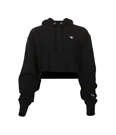 Champion LIFE Reverse Weave(r) Cropped Cut Off Pullover Hoodie
