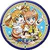 """DOG DAYS"""" 缶バッジ レベッカ&クーベル"""