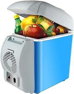 WEI-LUONG mini 7.5L Car Heater Box Heater Car Refrigerator Dual-Core DC 12V Dual-Core Portable Air Conditioner Refrigerator