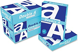 Double A Everyday Copy Multipurpose Paper - Letter - 8.50in. x 11in. - 20 lb