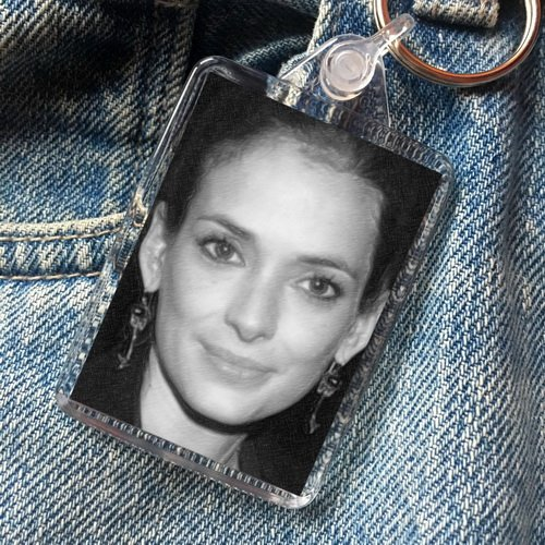 Seasons WINONA RYDER - Original Art Keyring #js004