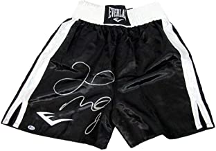 Floyd Mayweather Autographed/Signed Everlast Boxing trunks BECKETT BAS 130476 - Beckett Authentication