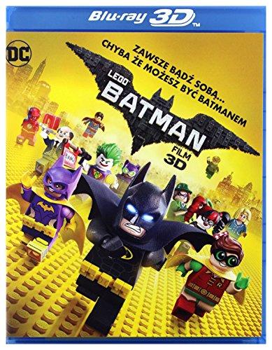 The Lego Batman Movie [Blu-Ray]+[Blu-Ray 3D] [Region B] (English audio)
