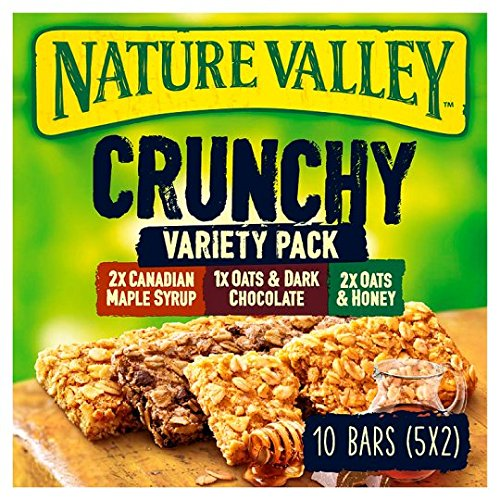 Nature Valley Crunchy Granola Bars Variety Pack 5 x 42g