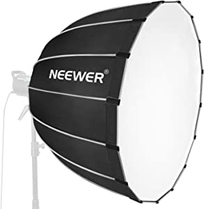 Neewer Hexadecagon Softbox inches 90 centimeters with Grey Rim and Bow...
