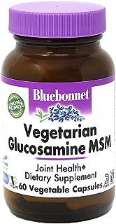 BlueBonnet Vegetarian Glucosamine Plus MSM Supplement, 60 Count (743715011137)
