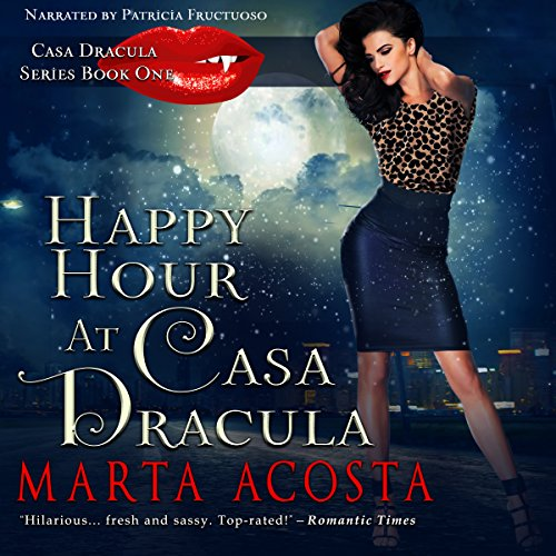 Happy Hour at Casa Dracula audiobook cover art