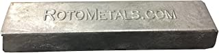 RotoMetals Zinc Ingot 99.7% min About 3.5 pounds Great for Small Castings/Weight- Made in USA