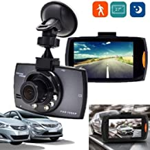$53 » SUPRIQLO Dash Cam 2.7''LCD Durable Practical HD 1080P Display Wide Angle Lens Car Driving Recorder,120° Wide Angle, In-Visor Video