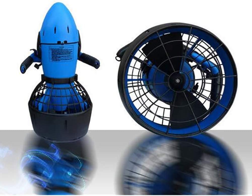 WBJLG Hélice de Agua para Scooter de Agua Motor Fuerte de 300 vatios 30 M Profundidad máxima de Buceo Equipo Sumergible para Deportes acuáticos