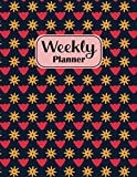 Weekly Planner: 52 week activities tracker, yearly, Agenda, Calendar Planner, Time Management with Mindfulness, to do list.
