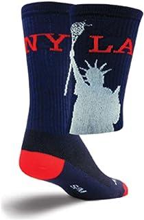 SockGuy Crew 6in LAX New York Lacrosse Socks