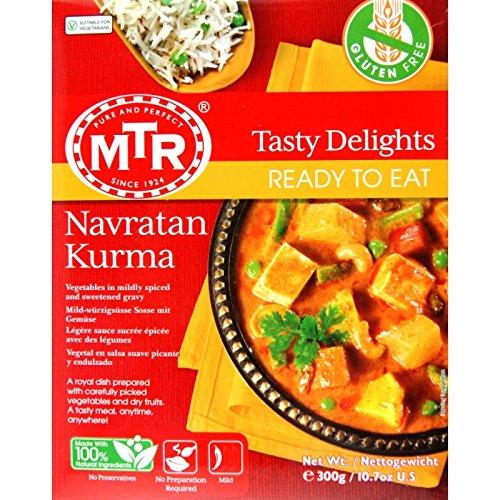 MTR 9種類の野菜とフルーツのカレー(ナブラタンコルマ)
