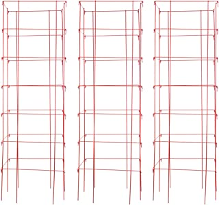 Burpee Extra Large Heavy Gauge Red Tomato Cage | 3 Cages | 18