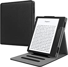 Fintie Flip Case for All-new Kindle Oasis (10th Generation, 2019 Release & 9th Generation, 2017 Release) - Multi-angle [Hands Free] Viewing Stand Cover with Auto Sleep/Wake, Black