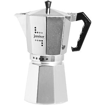 Bialetti Junior Cafetera, Aluminio, Plata, 12 tazas: Amazon.es: Hogar