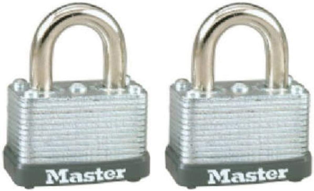 Master Lock 22T Keyed Alike Warded Direct Special sale item sale of manufacturer 1-1 2 Padlock Inch 2-Pack S