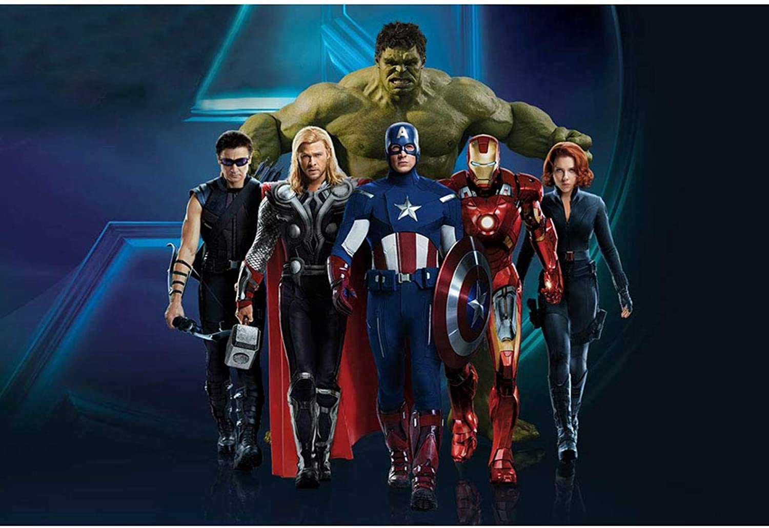 Erwachsene Puzzles, Avengers Poster Puzzle, Infinity War Movie Stills, Holzpuzzle 300.500.1000 Teile,A,500PCS