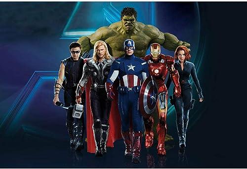 selección larga 1000 Piezas, Avengers Poster Puzzle, Stills de de de la película Infinity War, Cartoon Anime bambini Puzzle Juguetes educativos para Adultos Decompression Puzzle 300,500,1000 Piezas,A,1000PCS  gran descuento