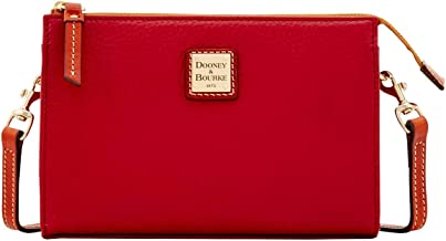 Dooney & Bourke Pebble Grain Janine Crossbody Wine
