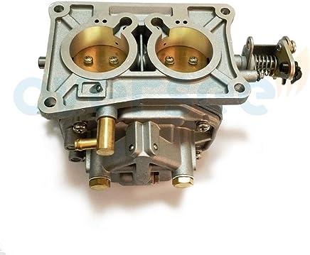 6k5-14301-03 Down Carburetor For Yamaha 60hp E60m Outboard Engine Parsun T60 Boat Motor Aftermarket Parts 6k5-14301-3 Boat Engine