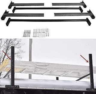 Hydraker Adjustable Roof Ladder Racks Fit for 4