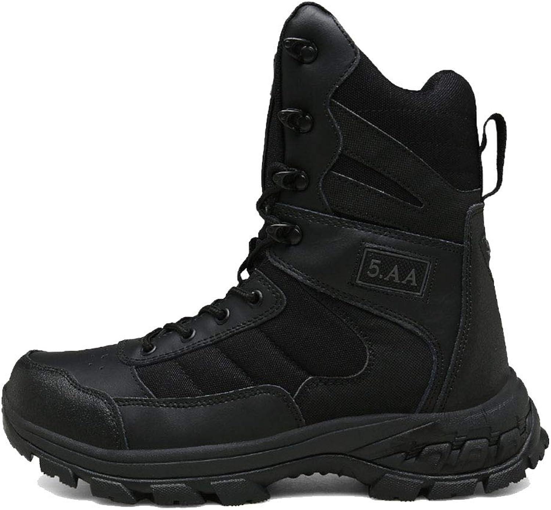 Herren Outdoor Militrstiefel Frühjahr und Sommer Wanderschuhe Commando Desert Tactical Snow Stiefel Wasserdicht und tragbar