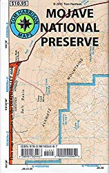 Mojave Desert In California Map.Mojave National Preserve Map Total Escape Map Shop