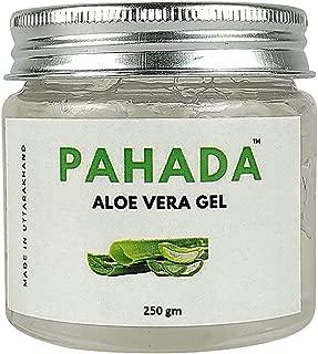 Pahada 100% Pure Aloe Vera Gel | Non toxic | For Skin, Face, Hair & Body | Paraben Free | Made with organic Aloe Vera grown in Uttarakhand | 250gm