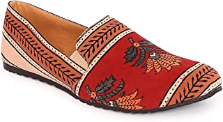 KANVAS Men Multicolor Printed Moccasins