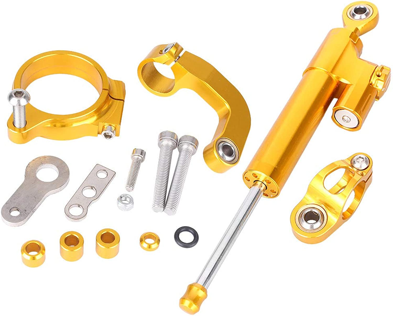 GZYF 1 x Motorcycle CNC Steering Damper Set Bracket Kits For BMW R1200GS R1200CL 2013-2016