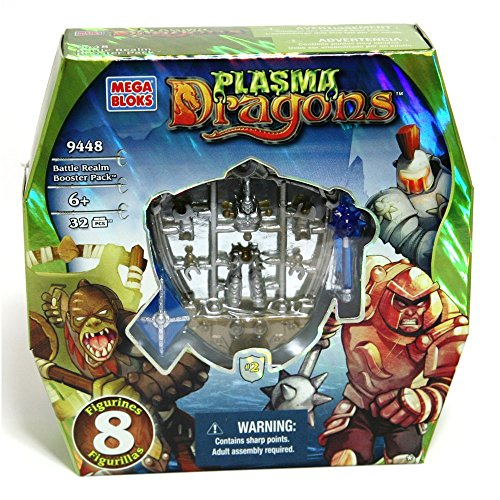 Mega Bloks Plasma Dragons Battle Realm Booster Pack